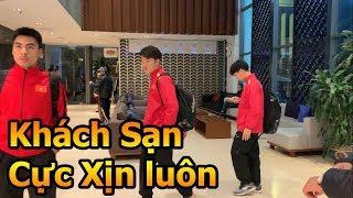 Thử Thách Bóng Đá đi tìm Khách Sạn của Công Phượng Xuân Trường Đức Huy và ĐT Việt Nam VS Malaysia
