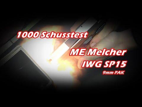 ME IWG SP15 Compact  im 1000 Schusstest 9mm PAK