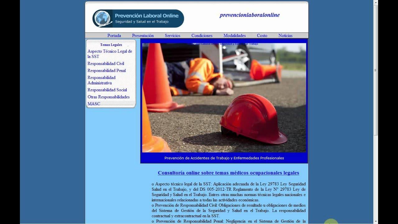 Prorrateo de Responsabilidades en Seguridad y Salud en el Trabajo ...