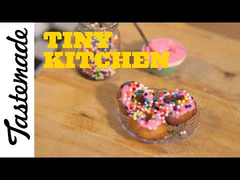 How to Make Tiny Donuts | Tiny Kitchen