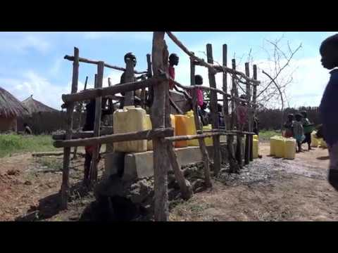 Water pump stations bring safe water closer to refugees and host communities
