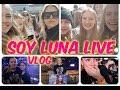 SOY LUNA LIVE VLOG - meeting Karol, Rugge, Valu.. in Leipzig Germany /LEA