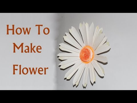 DIY, How to make Flower by paper