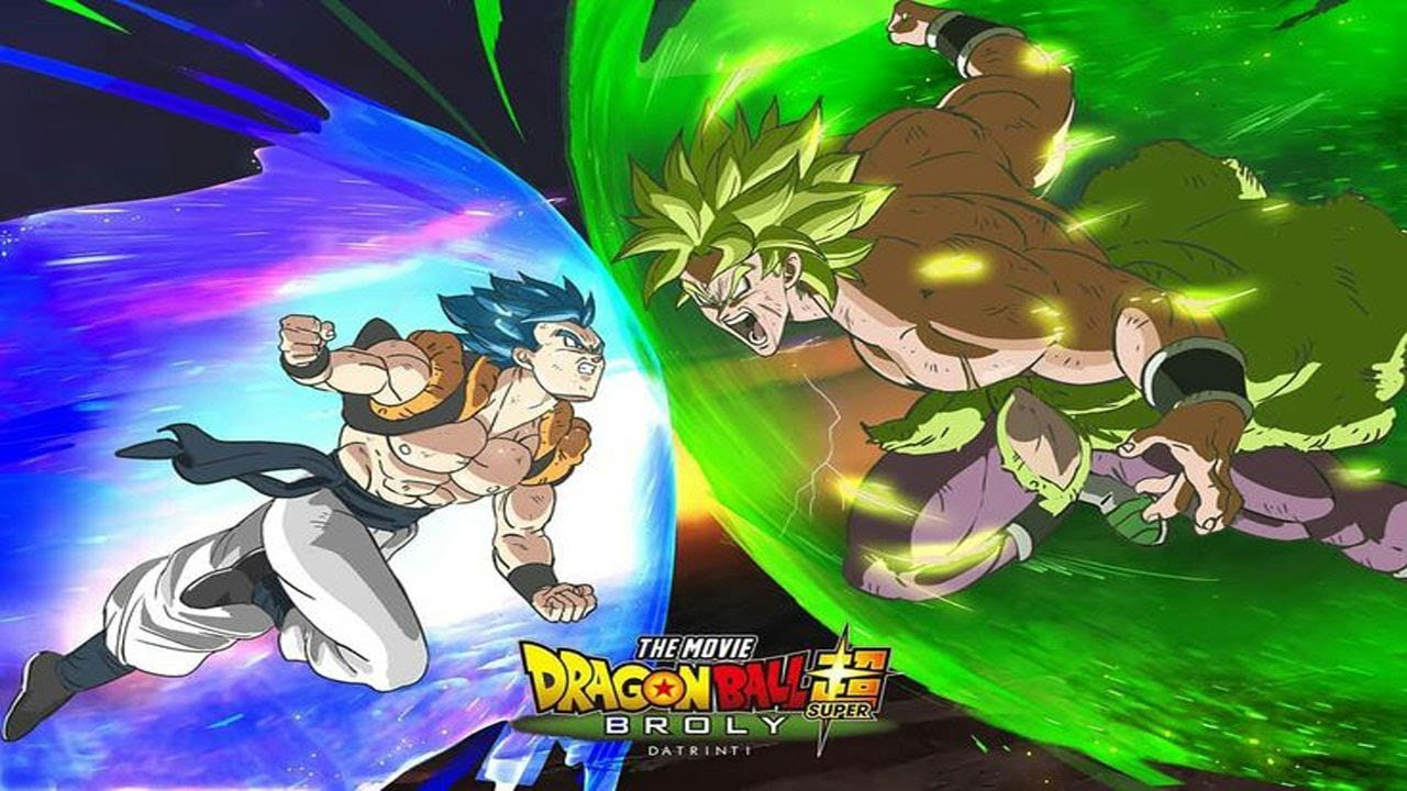 Gogeta Is Coming In Dragon Ball Super Movie Super Saiyan Blue Gogeta Vs Broly