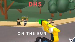 ROBLOX | Firestone DHS Patrol, On the Run