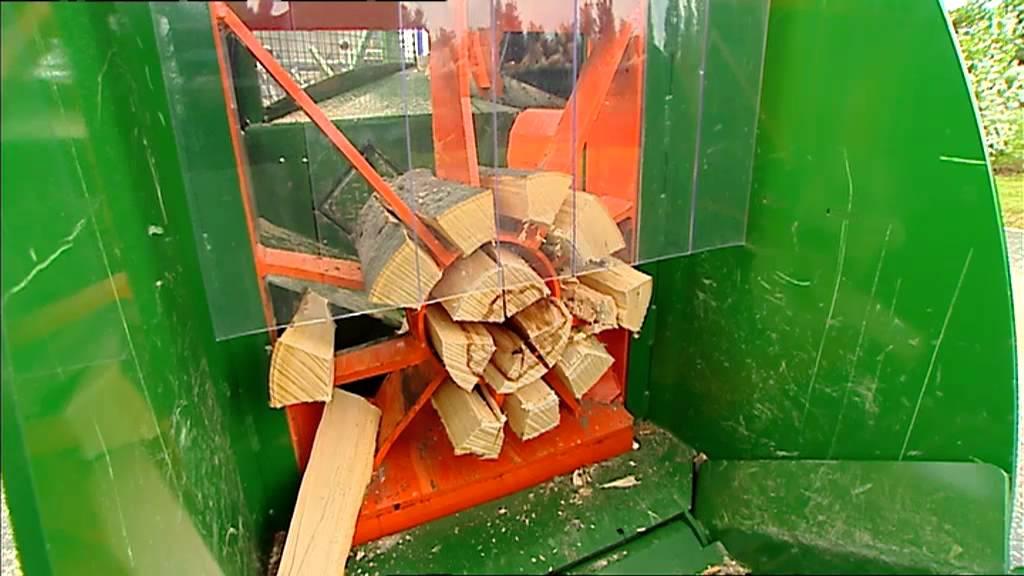 Posch Spaltfix K 450 Firewood Processor Youtube