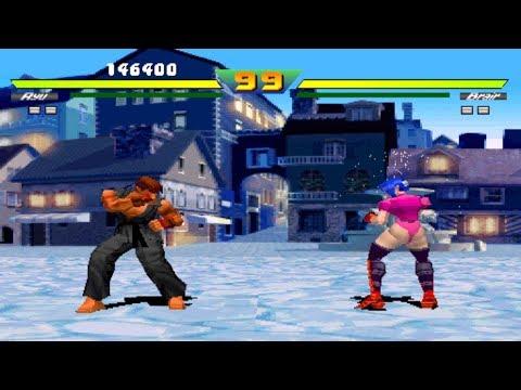 Street Fighter EX Plus [Arcade] - Evil Ryu