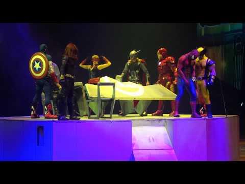 Marvel universe live 3 @Barclays center