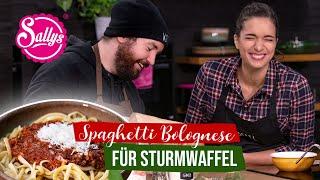 Spaghetti Bolognese für Sturmwaffel / Ragù alla Bolognese