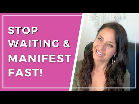 Simple Trick to Stop Waiting for Your Manifestation to Manifest FAST!