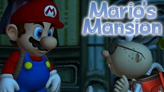 Repeat youtube video MARIO'S MANSION [PLAYING AS MARIO IN LUIGI'S MANSION] ROM HACK - MARIO SAVES HIMSELF?!