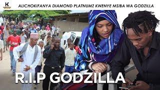 Alichokifanya DIAMOND PLATNUMZ kwenye Msiba wa Godzilla
