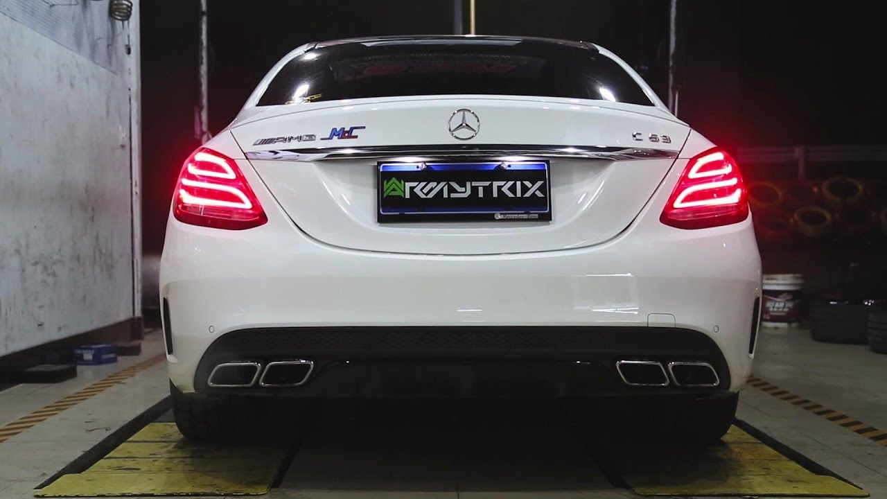 ARMYTRIX Stainless Steel Valvetronic Catback Exhaust System Mercedes-Benz  C63 AMG | AMG S W205 15-18