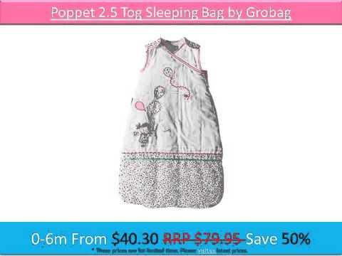 Grobag Sleeping Bags On MBS