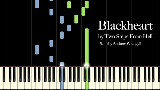 Blackheart by Two Steps From Hell (Piano Tutorial)
