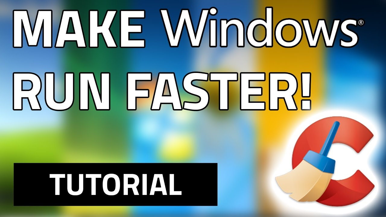 How To Make Your Computer Run Faster For Free! Windows XP/Vista/7/8/8.1/10 - YouTube