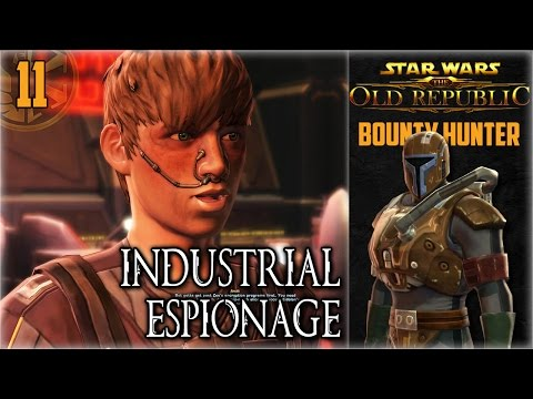 SWTOR Bounty Hunter Origin Story (Part 11) - Industrial Espionage