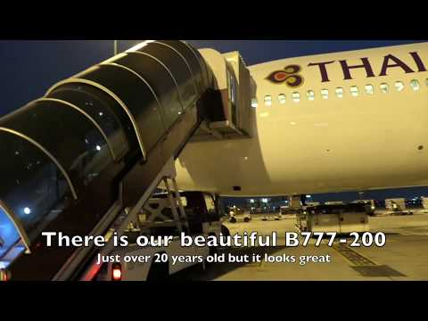 Thai Airways | Business Class | B777-200 | Bangkok to Singapore