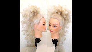 летниепрически хвост Прическа на длинные волосы Хвост Женские прически на длинные волосы