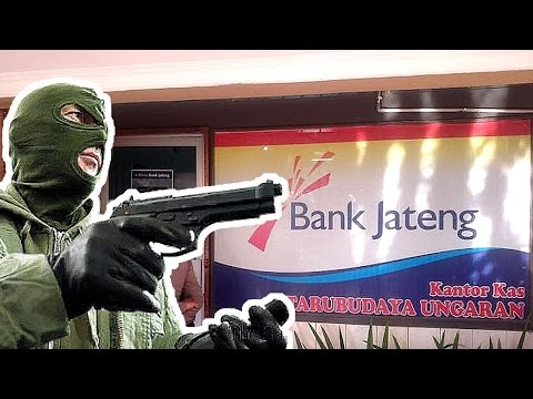 Inilah Fakta fakta Perampokan Kantor Kas Bank Jateng di Ungaran Jawa Tengah