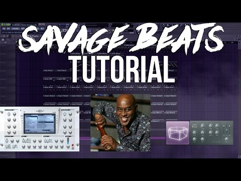 Savage Beats Tutorial (Unedited/Unplanned Start To Finish)