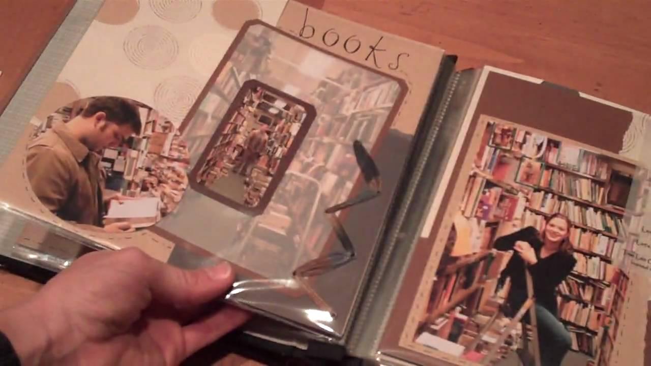 Mini anniversary scrapbook album youtube