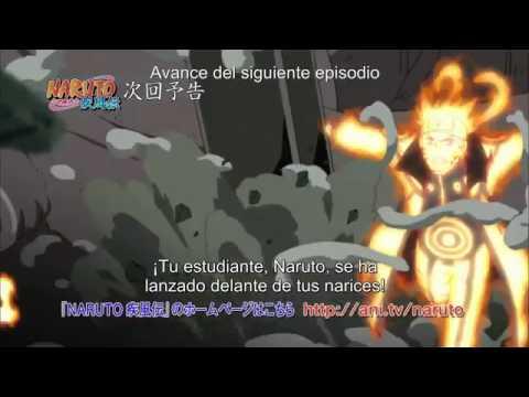 avances Naruto Shippuden 343 sub español