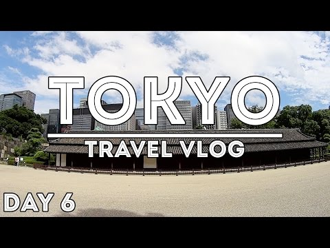 TRAVEL VLOG: TOKYO, JAPAN //DAY 6 - CHIYODA