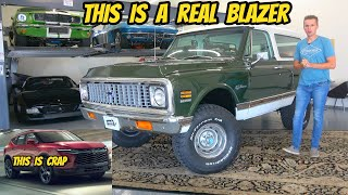 homepage tile video photo for Here's why the NEW Chevy Blazer is a HUGE flop. Build the K5 Blazer people want?