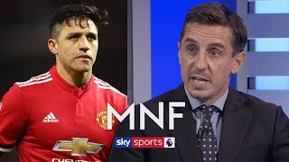 """He's been an absolute disaster!"" - Gary Neville says Man United must get Alexis Sanchez out"
