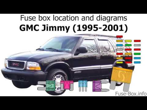 Fuse box location and diagrams: GMC Jimmy (1995-2001) - YouTubeYouTube