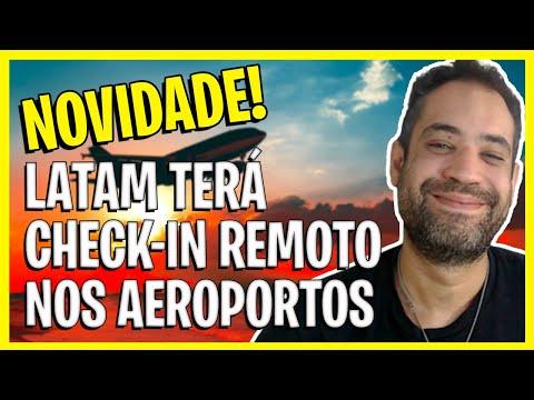 CHECK IN LATAM - SUPER NOVIDADE! LATAM TERÁ CHECK IN REMOTO NOS AEROPORTOS!