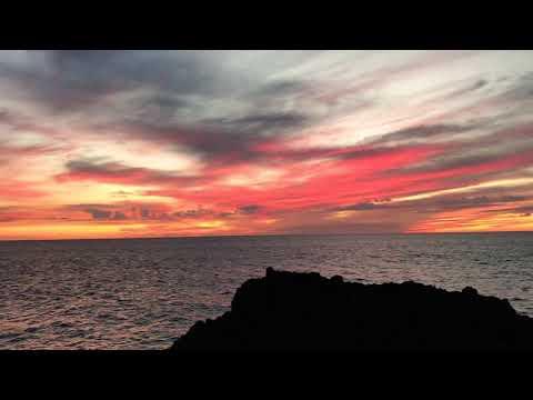 Sunset, November 18, 2017, Keauhou Surf & Racquet Club, Kailua-Kona, Hawaii