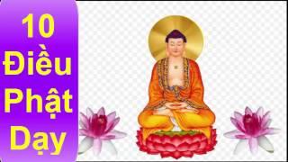 10 Điều Phật Dạy ( Thập Thiện Nghiệp )