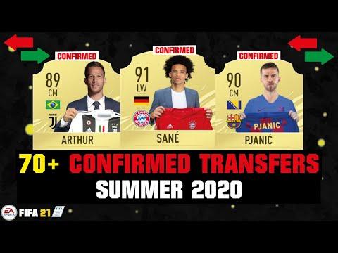 70+ CONFIRMED TRANSFERS SUMMER 2020 ✅😱  FT. SANE, ARTHUR, PJANIC... etc