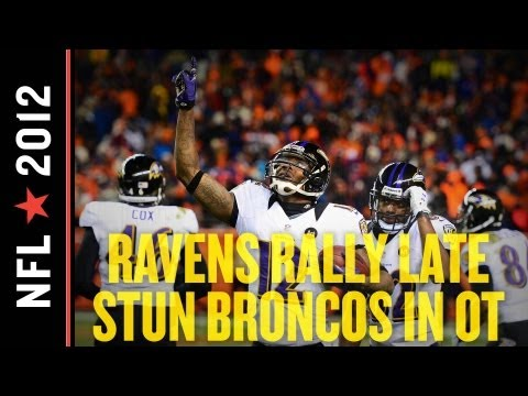 Broncos vs Ravens 2013: Denver Falls Apart Late, Stunned by Baltimore in 2OT, 38-35