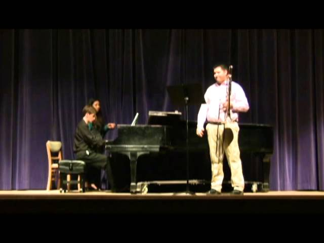 2015 4 11 Brian Junior Recital JOSM Romance   Carl Maria von Weber