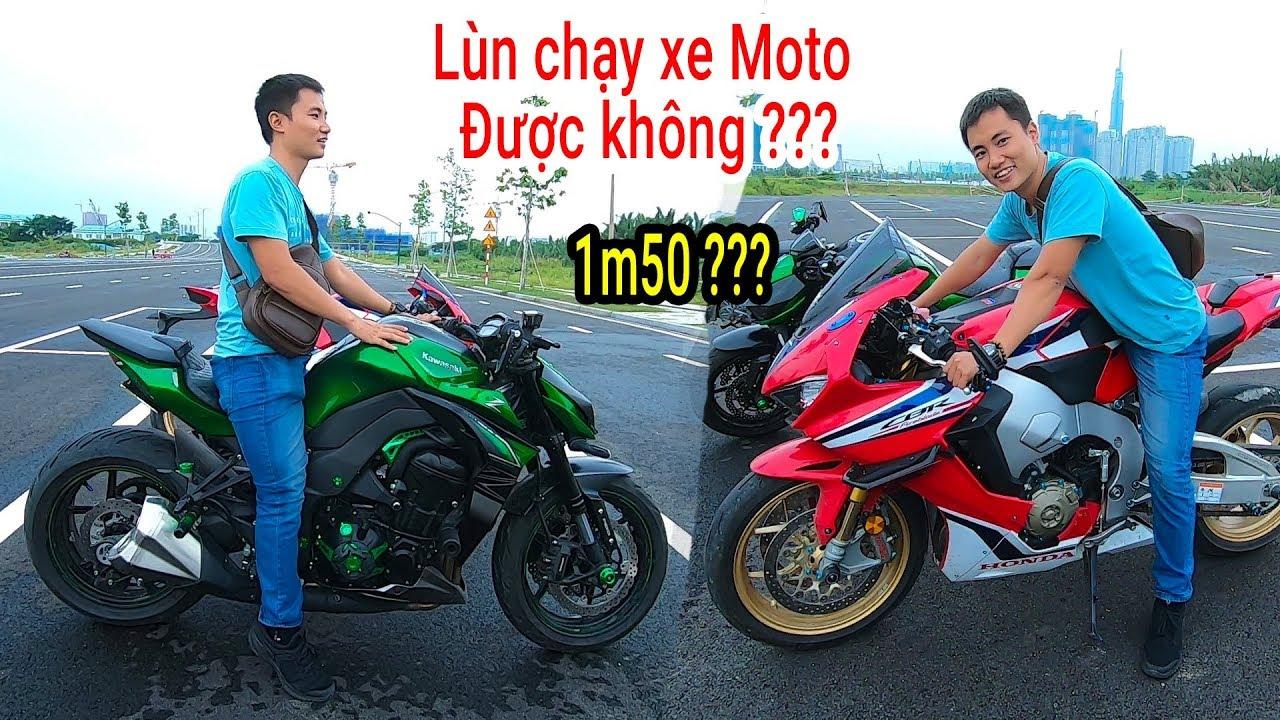 Cao 1m57 chạy xe Sportbike Honda CBR1000rr SP1 được không – Cao bao nhiêu chạy được xe PKL ???