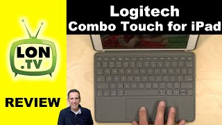 Logitech Combo Touch for iPad Review - Keyboard and Trackpad Case for iPad 10.2 (7th generation)