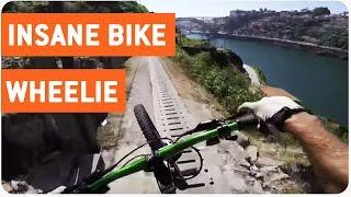 Mountain Biker Masters Trick Hill Bike Manual   The Hills