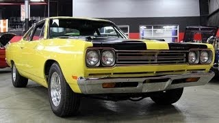 1969 Plymouth Road Runnner Test Drive Classic Muscle Car for Sale in MI Vanguard Motor Sales