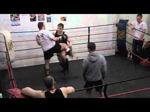 Mark Macgee Eilean Siar Muay Thai @Eclipse Glasgow Interclub 2nd fight March 2011