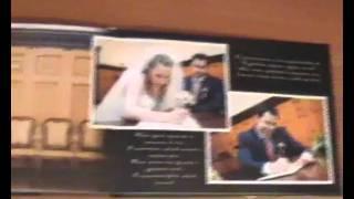 Wedding book Свадебная фотокнига.avi