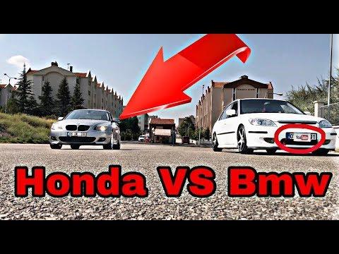 Bmw Honda'Ya Kafa Tutarsa!! | Böyle Yarış Görülmedi! (Araç Markalarını Görelim)