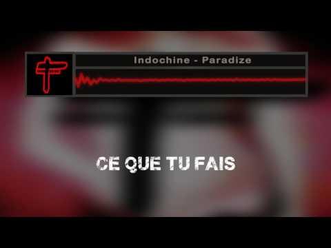Indochine - Paradize (lyric)