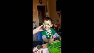 Gökalp'in doktor seti ile evde oyunu, eğlenceli çocuk videosu