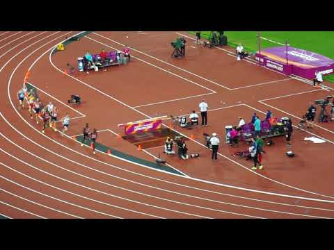 Mens 1500m final at the World Athletic Championships in London 2017 won by Manangoi