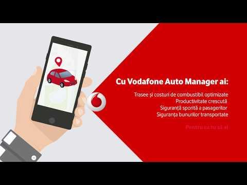 Vodafone Auto Manager Managerul Masinilor Tale