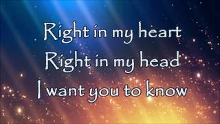 We The Lion - I Want You To Know (Lyrics Video)