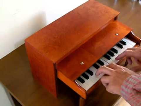 Jaymar 25 keys Toy Piano2 demo[organ69]